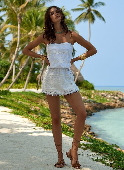 Tia short beach dress