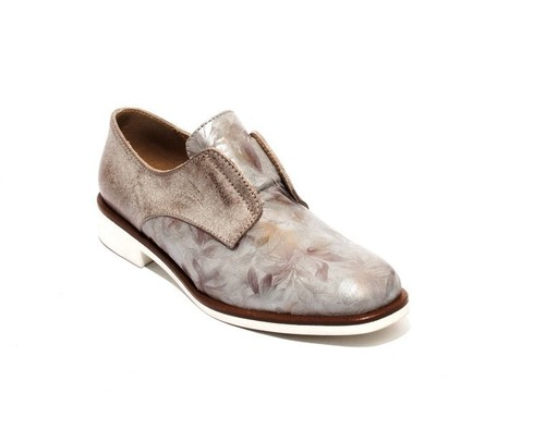 Multi-Color Leather / Suede Oxfords Shoes