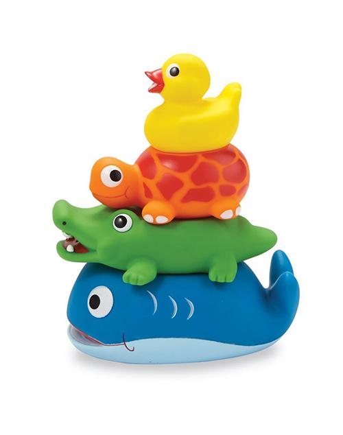 Stackable Rubber Bath Toys