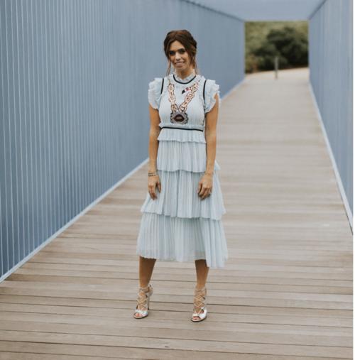 Dress W/ Applique
