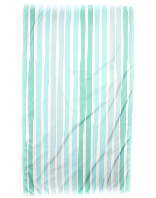 Aruba Stripe Giant Beach Towel - Pink/Orange