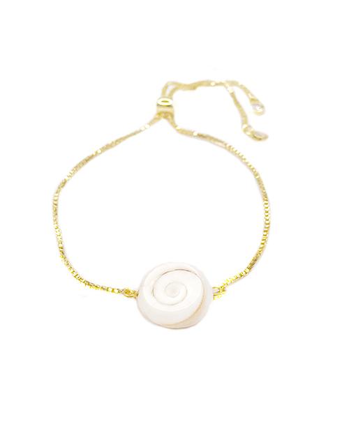 Bolo Shiva Shell XL Bracelet 18K Plated