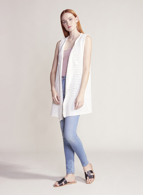 Ivory Coast Sweater Vest