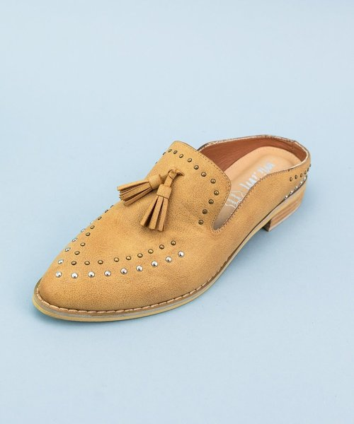 Adline Studded Tassel Loafer