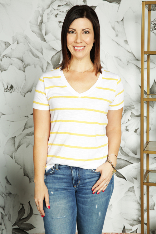 The Mimosa Vienna V-Neck
