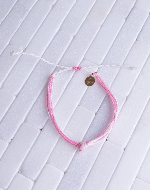 Pink & White Women's Carlos Bracelet