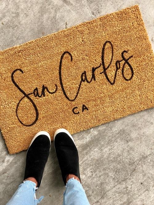 San Carlos Doormat