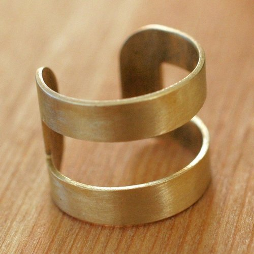 Harlow Brass Band Ring