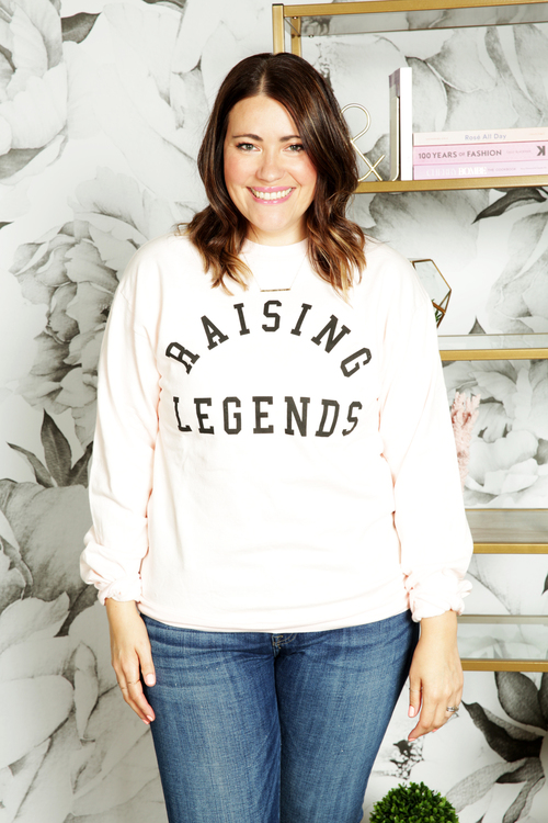 Raising Legends Blush Pullover