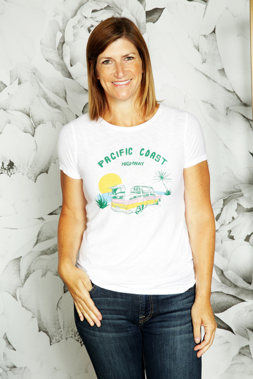 Pacific Coast Highway Graphic Tee
