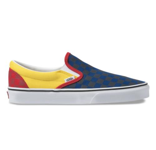 Vans Classic Slip-On OTW Rally Navy / Yellow / Red