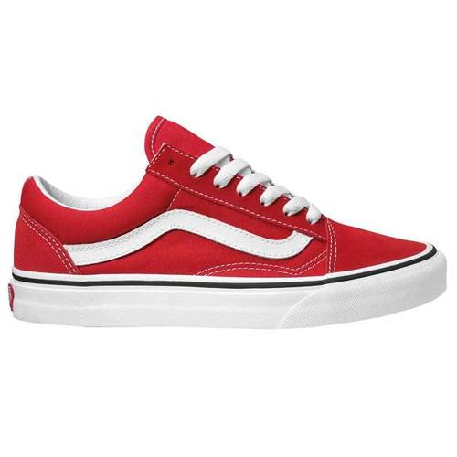 Vans Old Skool Racing Red / True White