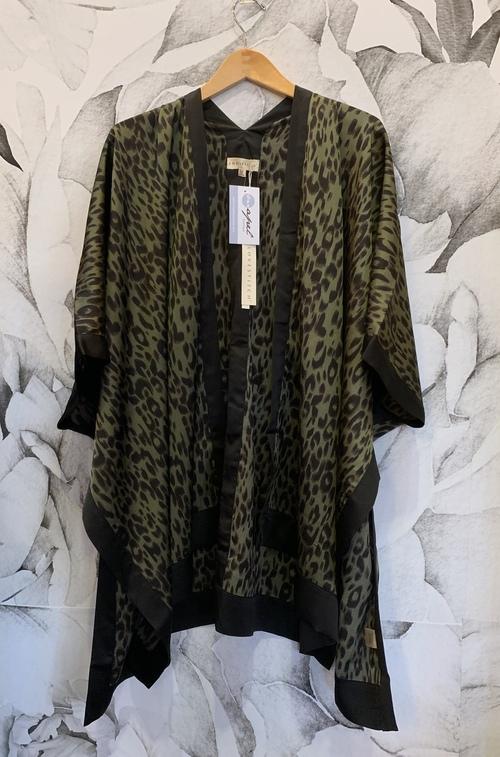 Printed Side Slit Kimono