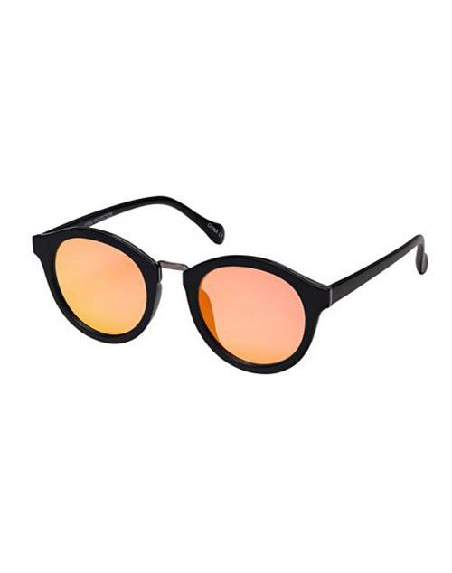 Round Revo Mirror Sunglasses