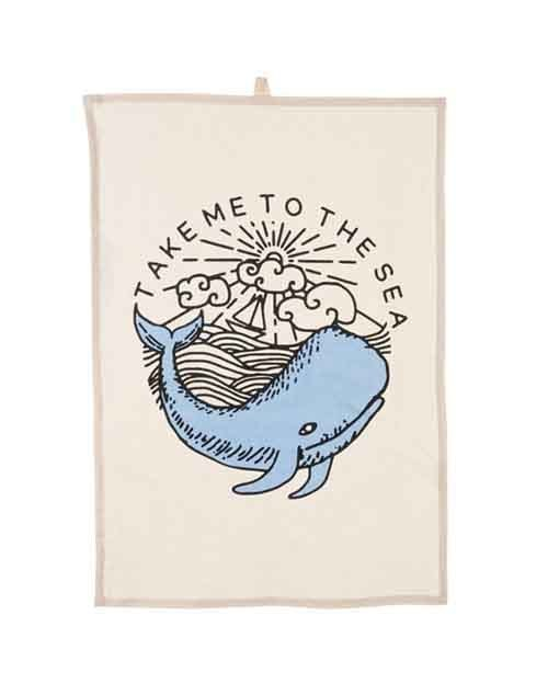 Take Me To The Sea Tea Towel