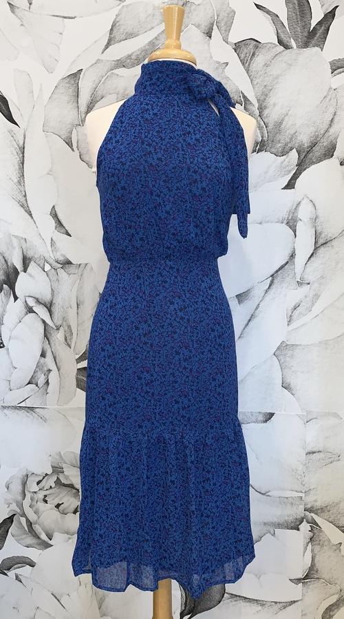 Delphine Tie Neck Dress