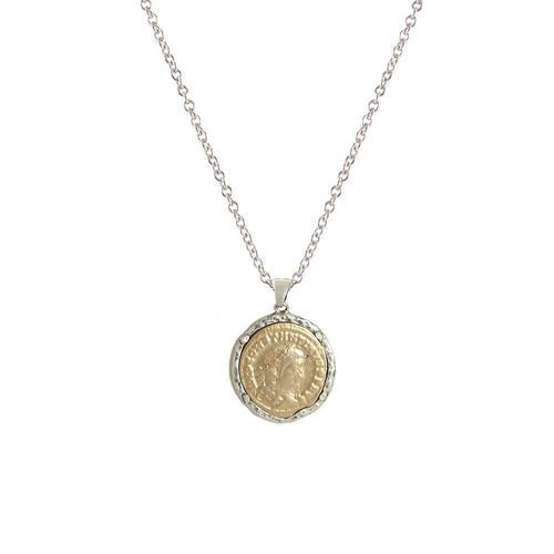 Vintage Silver Maximianus Necklace