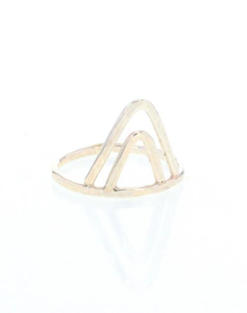 Tipi Ring Gold Vermeil