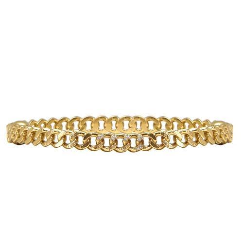 Gold Mini Catena Bangle