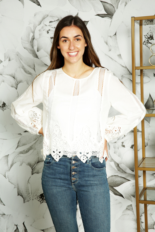 Catalan Lace Blouse