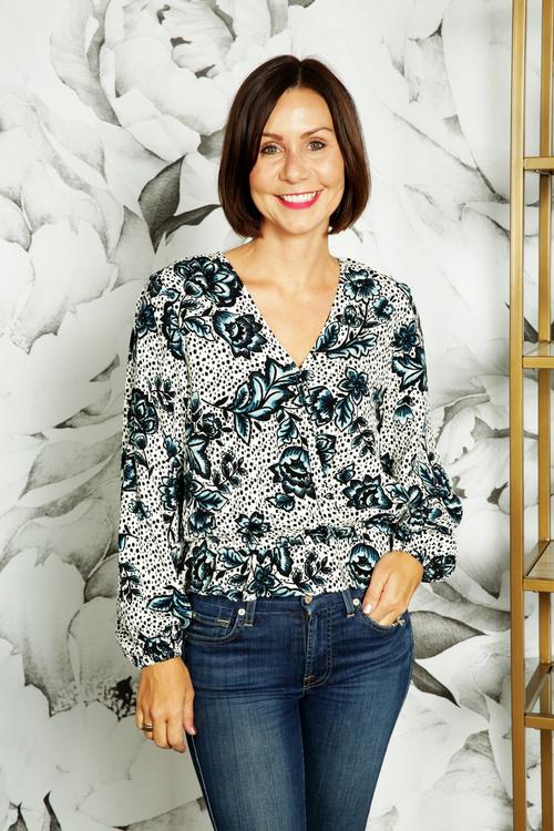 Luisa Floral Top