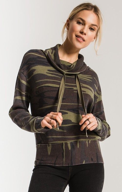 The Camo Cowl NK Waffle Thermal
