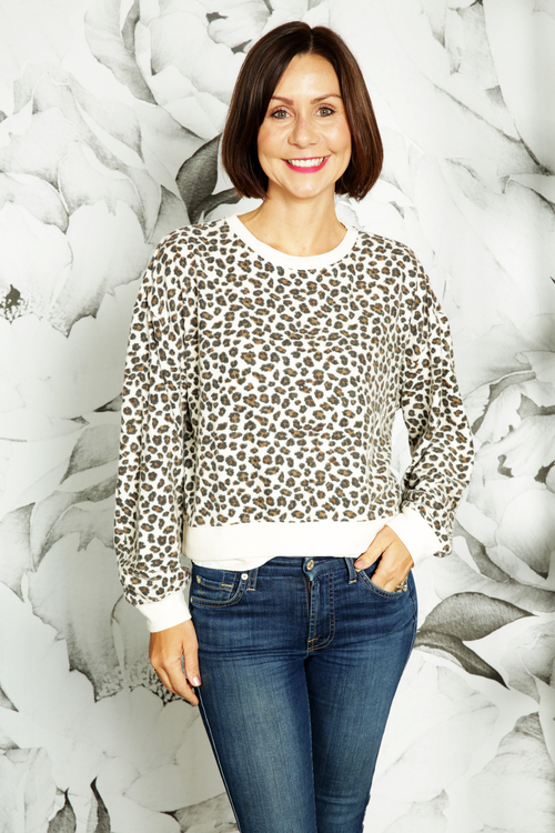 The Multi Leopard Pullover