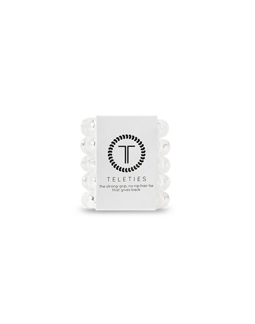 Teleties 5 Pack Tiny - Crystal Clear
