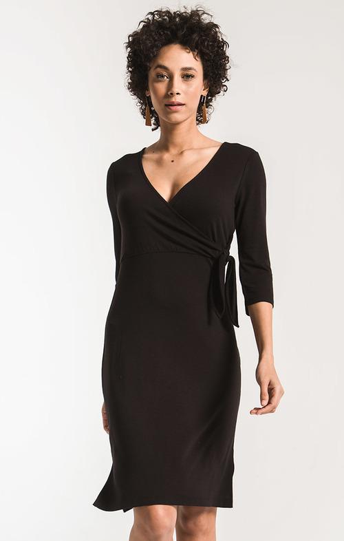 The Dahlia Wrap Dress
