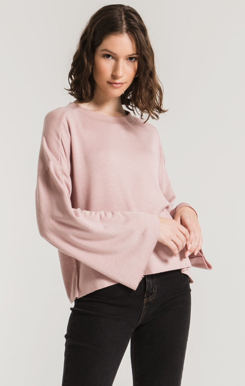 The Wood Rose Premium Fleece Flare Sleeve