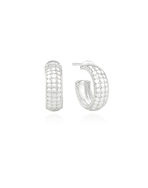 Limited Edition Small Dome Hoop Earring