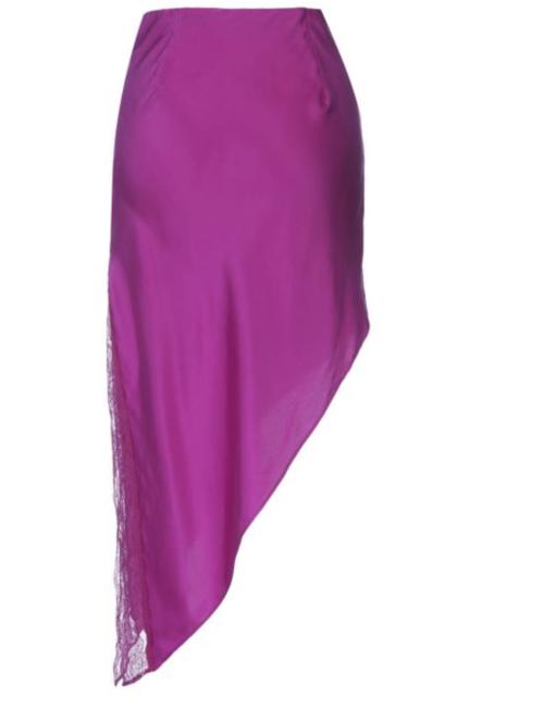 Origami Silk skirt