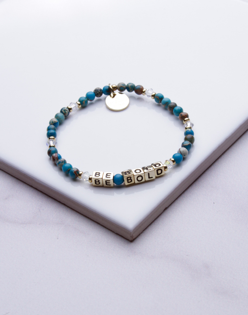Little Words Project - Be Bold Bracelet Gold