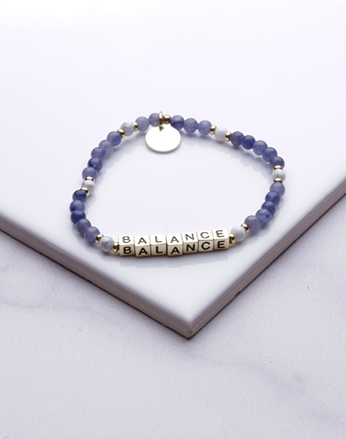 Little Words Project - Balance Bracelet Gold