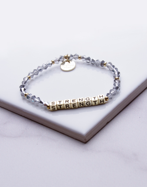 Little Words Project - Strength Bracelet Gold