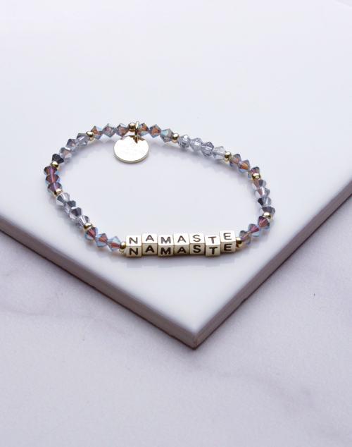 Little Words Project - Namaste Bracelet Gold