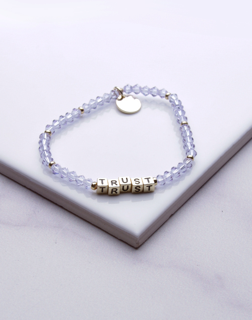 Little Words Project - Trust Bracelet Gold