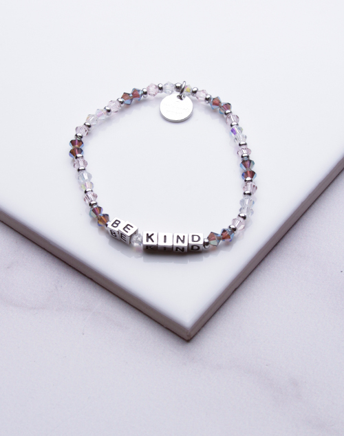 Little Words Project - Be Kind Bracelet Silver