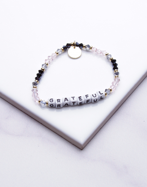 Little Words Project - Grateful Bracelet White