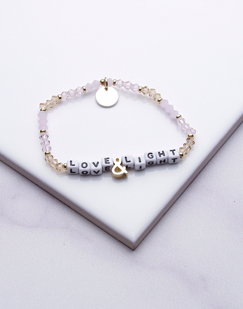 Little Words Project - Love & Light Bracelet White