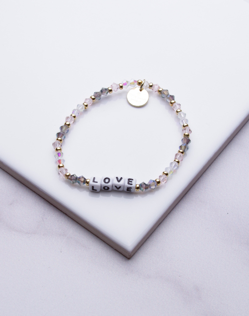 Little Words Project - Love Bracelet White