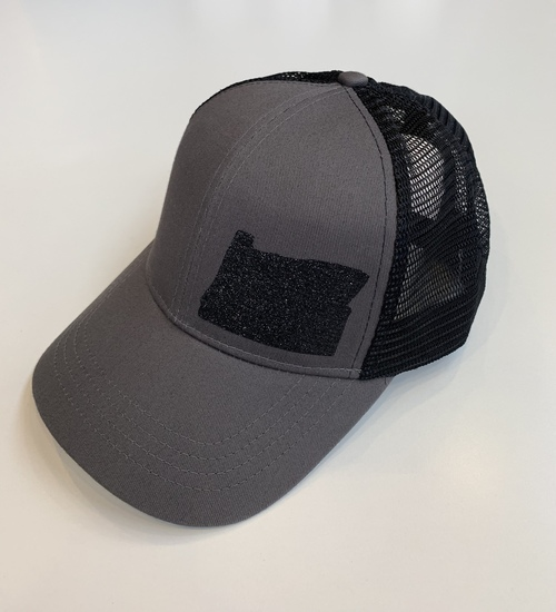 Hank Orange Black Hat w/ Sparkle Matte OR