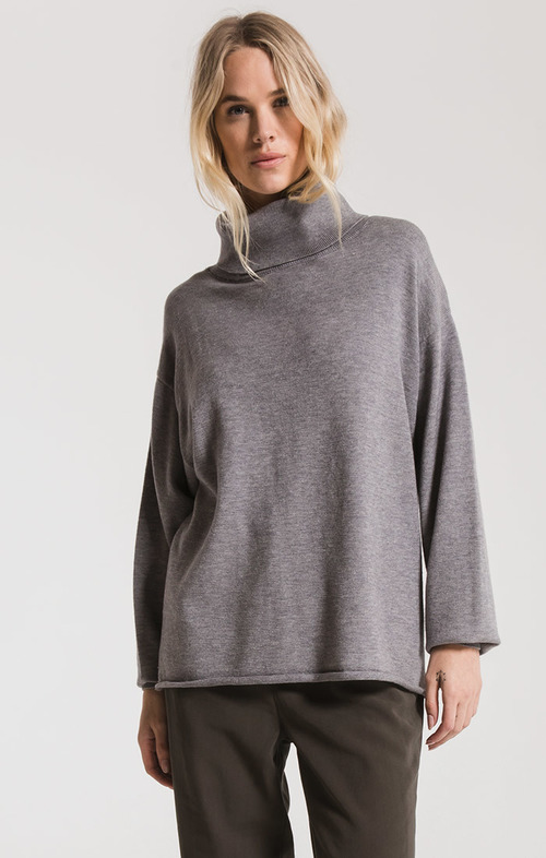Heather Grey Fort Greene Sweater