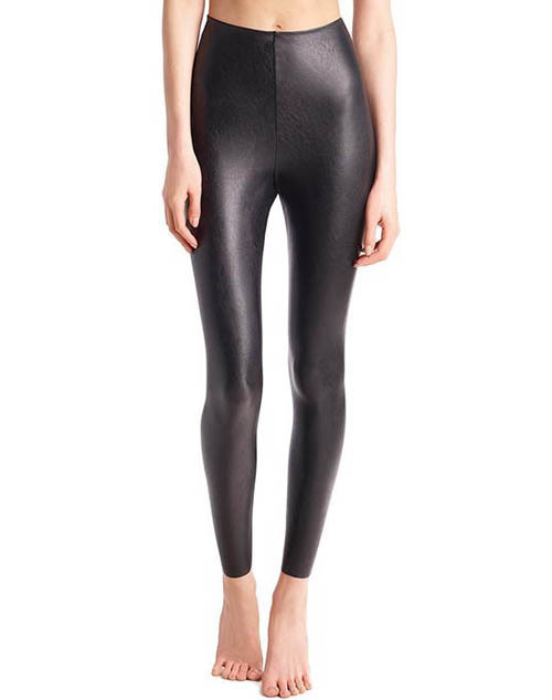 Faux Leather Perfect Control Legging