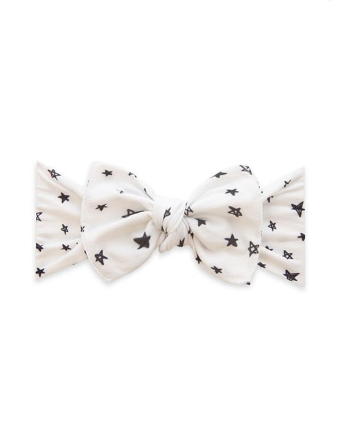 Printed Knot Headband - Written In The Stars