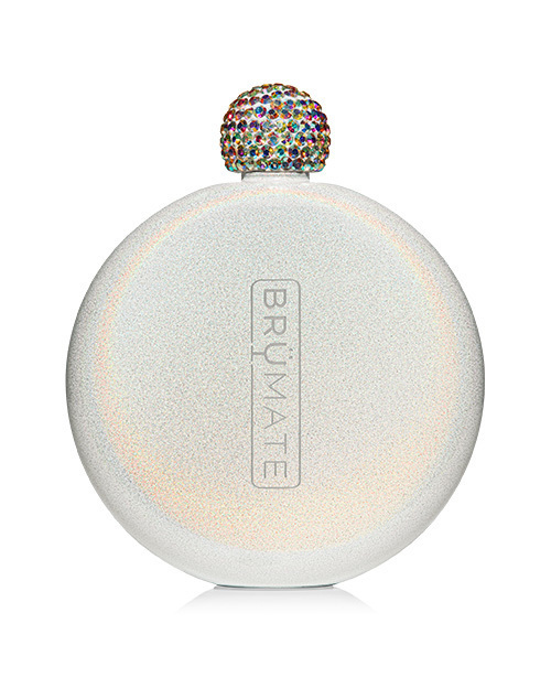 Glitter Flask - Ice white