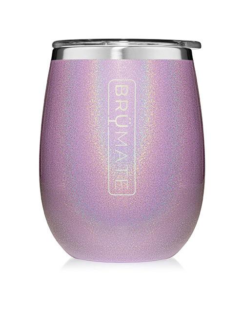 Uncork'D XL 14oz Wine Tumbler - Glitter Violet