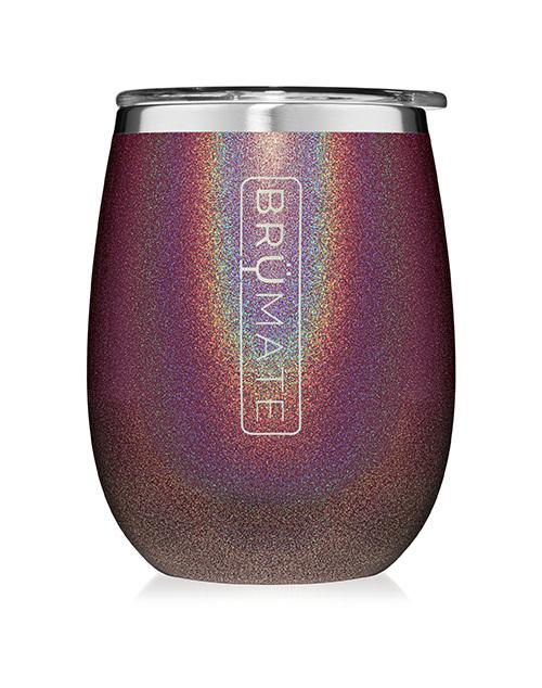 Uncork'D XL 14oz Wine Tumbler - Glitter Merlot