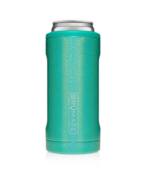 Hopsulator Slim 12oz - Glitter Peacock