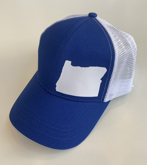 Hank Orange Blue Hat White OR